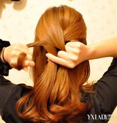 【图】披发编发短发步骤图解轻易学四股辫很土的发型图片