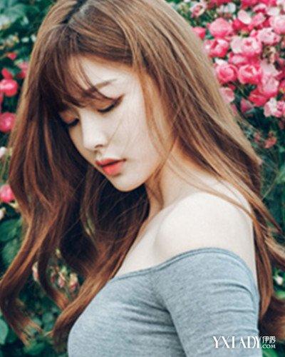【图】韩式中长v发型发型图片发量少妹纸发型绳子未结编发图片