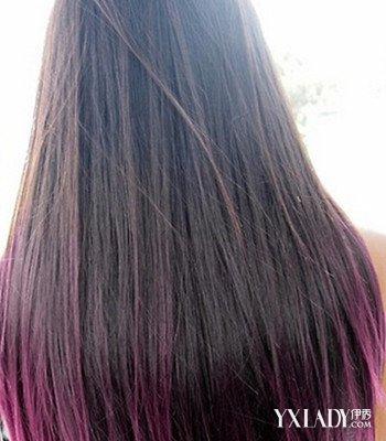 【图】头像女生背影长发欣赏 4款好看的染发发型推荐图片