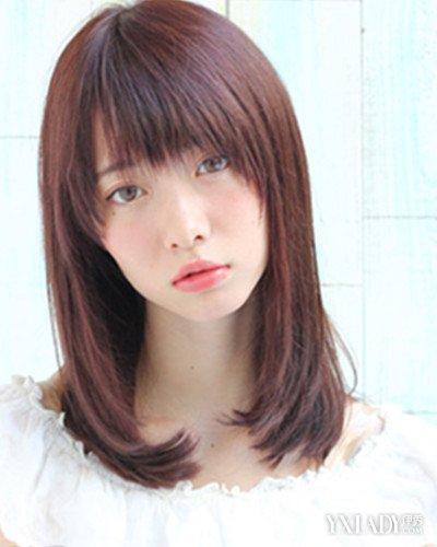 【图】齐肩短发直发发型盘点 齐肩直发发型更显清纯图片