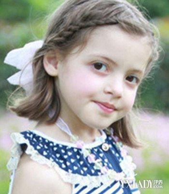 就算宝宝是及肩短发,这款值得学习的儿童短发编发发型也能让她变成