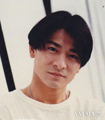 刘德华中分发型图片图片