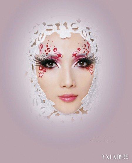 【图】创意妆面整体造型图片曝光 前所未有的惊艳造型