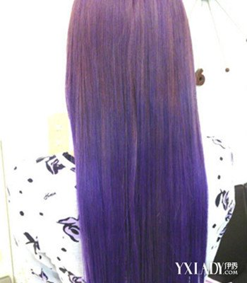 【图】背影头像女生长头发发型 4款时尚挑染发型来袭图片