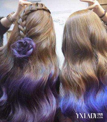 【图】背影头像女生长头发发型 (350x400)