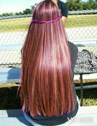 【图】唯美长头发的女孩子的图片 顺滑长发惹人爱图片