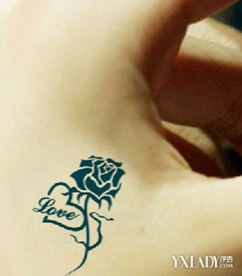 【图】小清新纹身图案女生图片