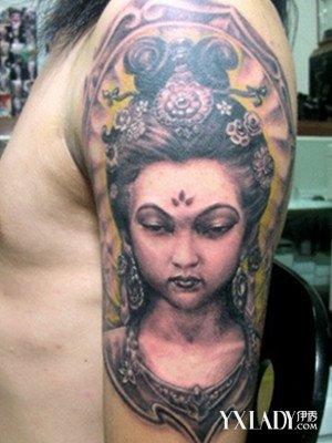 盘点花旦纹身图案大全 了解花旦的精髓图片