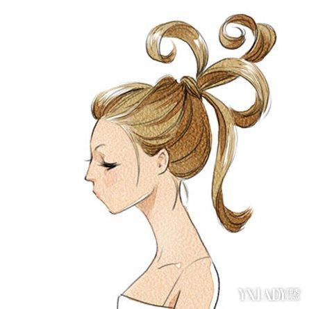 【图】盘头发简单好看的方法步骤图解