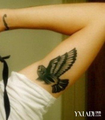 小清新男生手臂纹身图案欣赏 4款时尚好看的纹身推荐图片