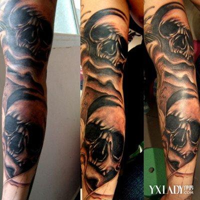 关于纹身是有一些讲究的,比如佛像,观音像,关公像,死神,夜叉,罗刹鬼等