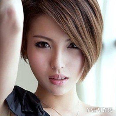 【图】短发图片女发型图片展示介绍5款长头流男还是发好看女生短头发好看个性图片