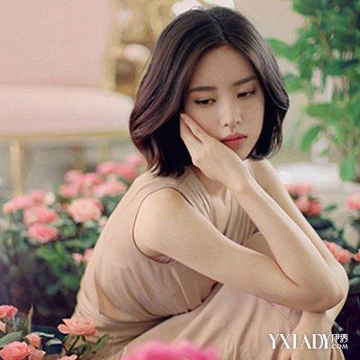 中短发发型女生韩范图片