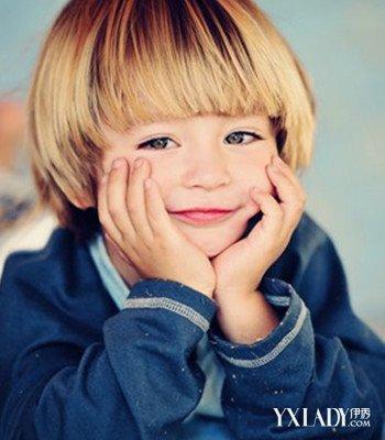 2018小孩发型图片男短发 打造可爱小王子图片