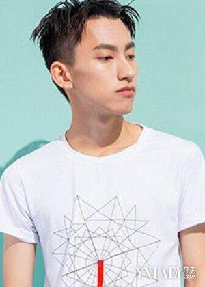 男生发型短发铲两边LOOK3-发型男生剃两边款式推荐 个性头型张杨潮