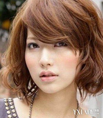 中短发烫发发型小卷图片 时尚个性发型任你选