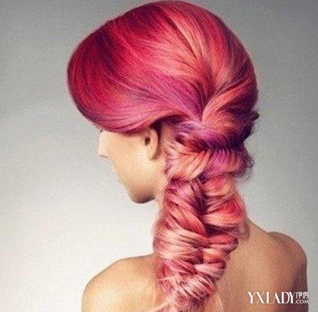 女生雕刻图案发型图片