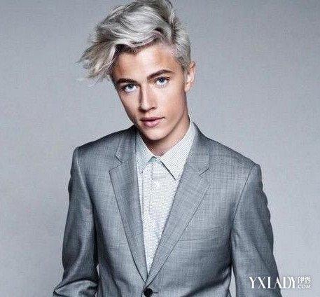 灰色头发也是不错的图片