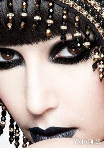 【图】创意妆容图片暮光热 吸血鬼适合你吗
