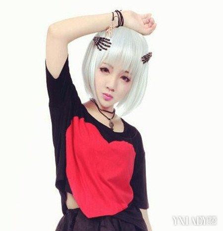 【图】女生原宿风短发发型图片 摩登的造型让你绝对吸