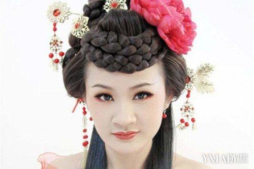 【图】唐妆发型美翻天 7种让女生变女神的发型图片