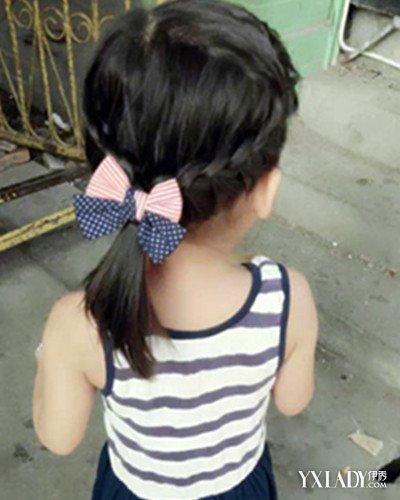 儿童怎么绑头发好看