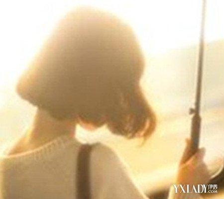 短发美女背影图片欣赏 四款发型让你更有气质