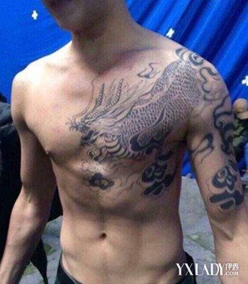 【图】杨洋麒麟臂纹身图片欣赏 酷炫纹身竟是地图