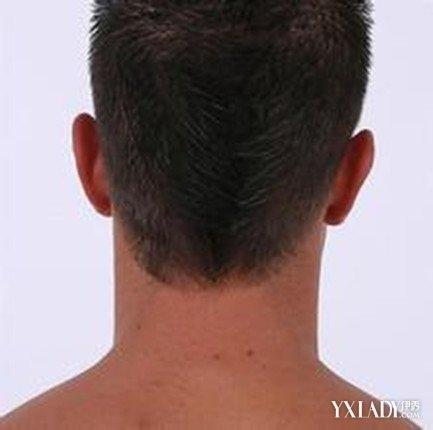 【图】男生后脑勺发型图片 清爽帅气很显范图片