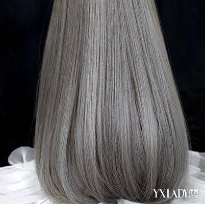 染发的原理就是将简单地将色素附着到头发表层上,它对头发的伤害不大.图片