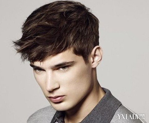 看男士短发图片 五款男士时尚发型图片