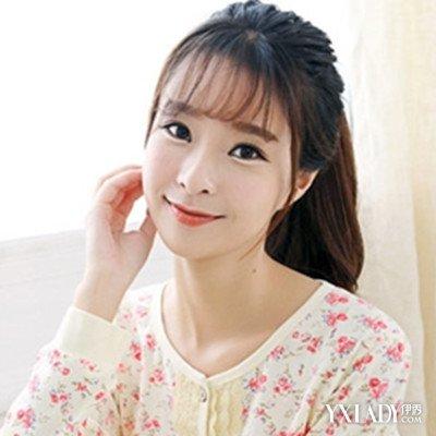 【图】探究方脸适合空气刘海吗 韩系清甜齐刘图片