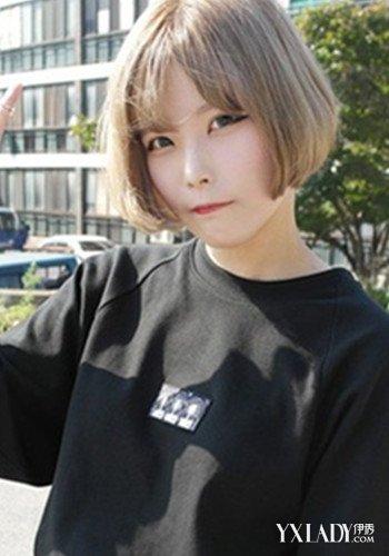 【图】女生短发背影图片迷人 小短发你值得拥有