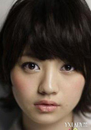 【图】短发红唇女生头像不能少