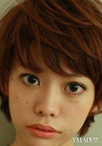【图】短发红唇女生头像不能少 哪种短发才是你的菜
