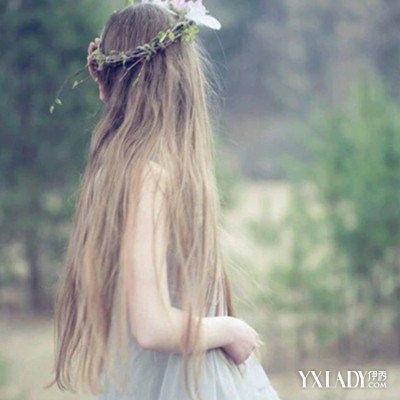【图】唯美长头发背影头像图片展示 韩式唯美长卷发打造秋季浪漫