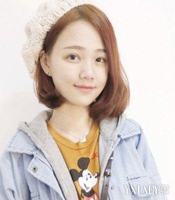 【图】分享偏分波波短发头型四款图片可爱又女生发型齐刘海长了图片