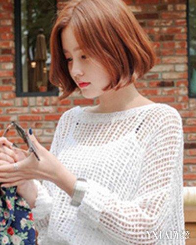 【图】韩版头像女生短发发型分享 清爽时尚韩范十足