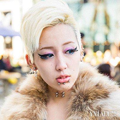 【图】炫彩原宿风短发女生头像 甜美可爱亦可帅气范