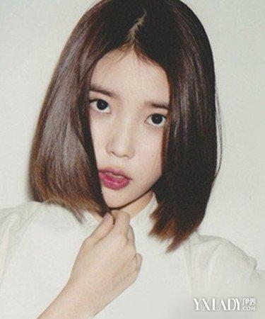 韩式短直发发型4图片