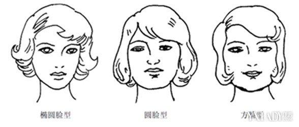 怎么区分脸型图片
