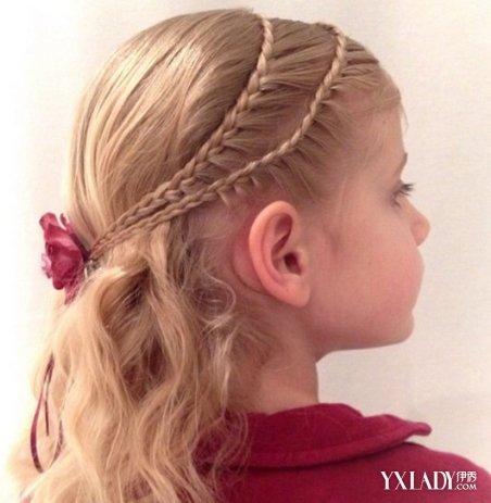 【图】学绑小孩子头发 4招教你编漂亮公主发图片