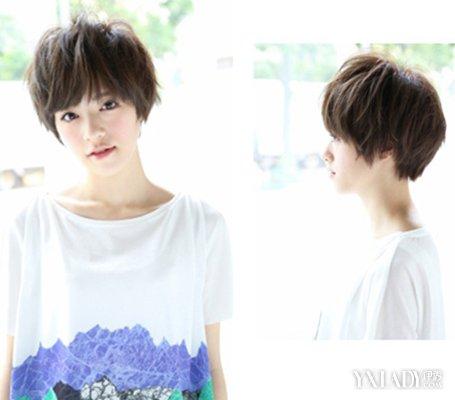 【图】发量少适合什么短发 4款发型打造清爽时尚范图片