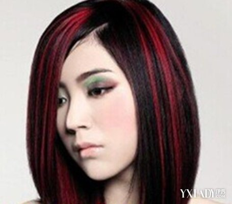 发型 流行发型 正文   这是一款偏分式顺直头发的波波头长发发型,图片图片
