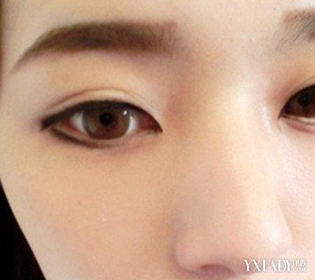 【图】韩国一字眉画法图片 教你两种简单一字眉画法图片