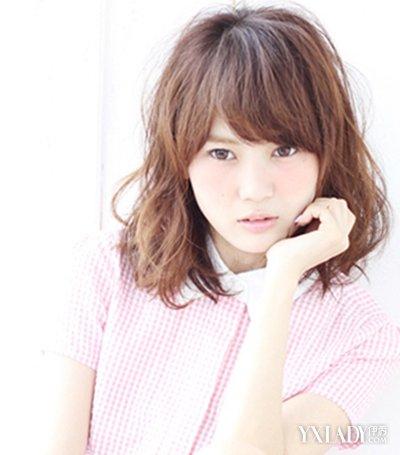 【图】韩式齐刘海齐肩短发发型 时尚修颜还减龄图片
