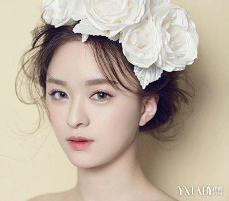 【图】韩式新娘妆容图片 自然演绎美时刻图片