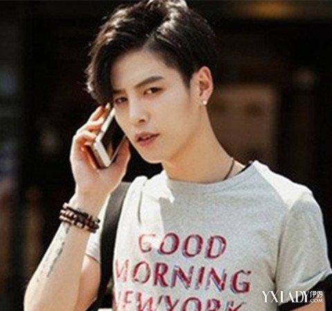 韩式发型男三七分图片 时尚三七分发型打造你的潮男气质