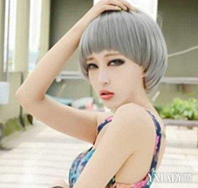 【图】韩版原宿短发头像短发女生 打造今秋最时尚发型 (400x380)