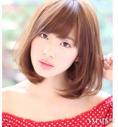 齐斜刘海发型图片女 介绍4款漂亮刘海发型图片